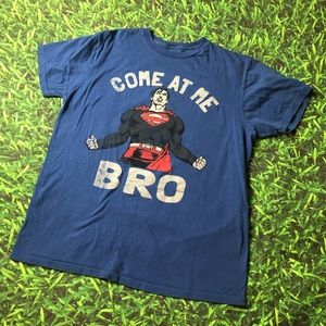 Superman DC Comics T-Shirt Come At Me Bro Tee